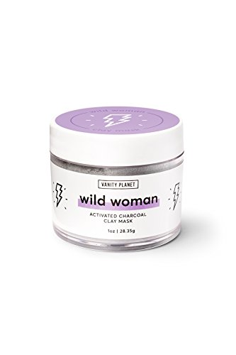 Vanity Planet Wild Woman Activated Charcoal Clay Mask, Oily/Acne Prone Skin