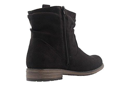 FITTERS FOOTWEAR - Kate - Damen Booties - Schwarz Schuhe in Übergrößen
