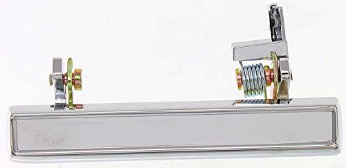 Exterior Front Door Handle Compatible with CHEVROLET MONTE CARLO 1978-1988/REGAL 1982-1987 LH Chrome