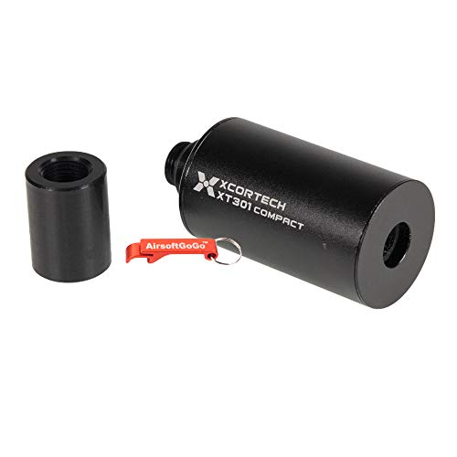 Xcortech XT301 60mm Compact Tracer (11mm CW to 14mm CCW, Black) - Keychain Included