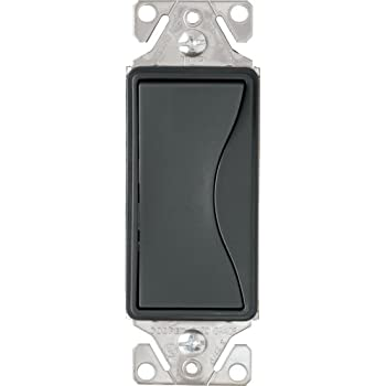 Silver Granite EATON 9503SG Core Aspire Rocker Switch 3 Position 120//277 Vac 15 A