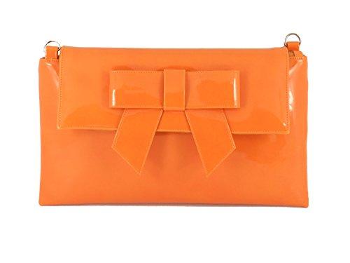 LONI - Cartera de mano para mujer Azul azul marino Large naranja