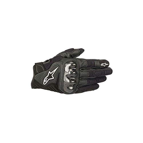 Alpinestars SMX-1 Air Men's Street Motorcycle Gloves - Black/Large