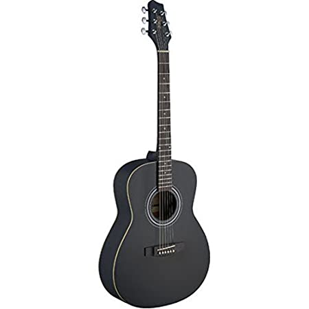 Stagg SA30A-BK Auditorium Acoustic Guitar - Matte Black