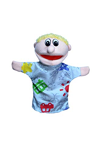 Soft Hand Puppet Family - Working Mouth for Kids, Toddlers and Teachers (Son) (Family Big Mouth Puppets)