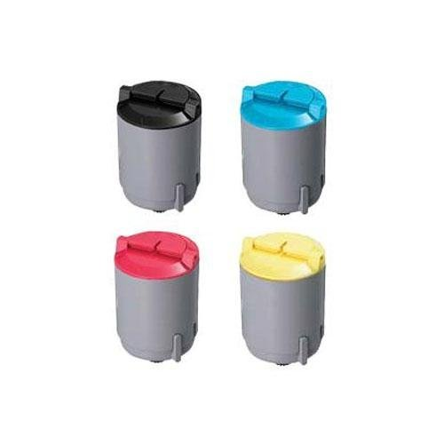 Compatible Replacement Color Set For Samsung� CLP-300A Toner Cartridges 4 Pack - Black, Cyan, Magenta, Yellow, 1100 Yield