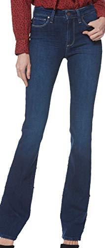 (Paige Women's Jean Exclusive High Rise Manhattan Boot Pompeii 4108F46 6210 (29) Blue)