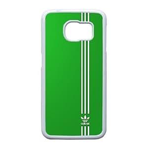 Samsung Galaxy S6 Edge Cell Phone Case White adidas logo_008 Gift P0J0Z3-2397856