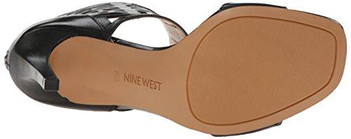 Nove in pelle occidentale Karabee tacco del sandalo