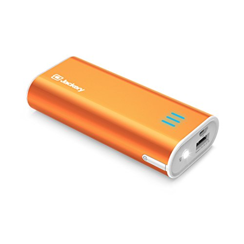 Mp3 Power Pack (Jackery Bar Pocket-sized 6000mAh Ultra Compact Portable Charger (External Battery Power Bank) with Premium Battery Cells Aluminum Shell Superior Charging Speed)