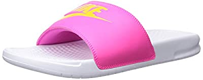 NIKE Women's Benassi Just Do It Synthetic Sandal