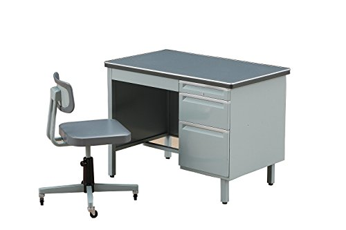Hasegawa Desk and Chair 1/12 Office [ Japan Import ]