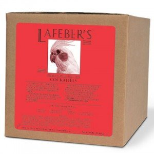 Lafeber Company Cockatiel Pellets Premium Daily Diet Pet Food, 25-Pound by Lafeber