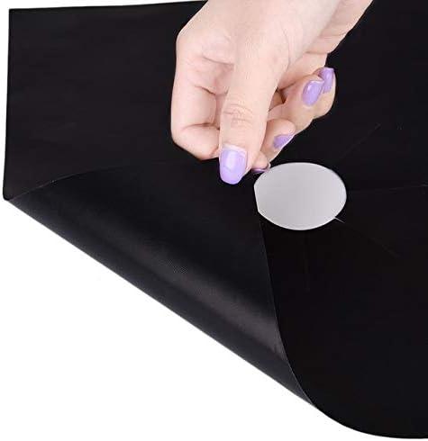 Gas Stove Cooker Range Burner Protector Cover Liner Clean Mat Pad Kitchen 1//4pcs
