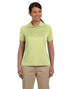 Devon & Jones Women's Short Sleeve Dri-Fast Advantage Colorblock Mesh Polo Golf Shirt DG375W green (Dri Fast Advantage)