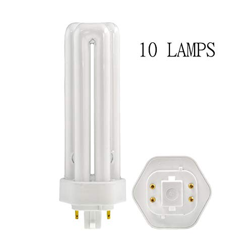 26 Watt CFL Triple Tube 4-PIN GX24Q-3 Base (10 PCS) CH Lighting PLT26W/4100K
