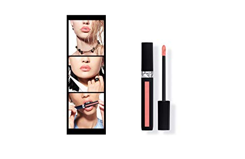 DIOR ROUGE DIOR LIQUID 0.20 oz # 162 MISS SATIN - pinky coral ()