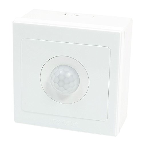 UXcell Human PIR Motion Sensor Switch, White