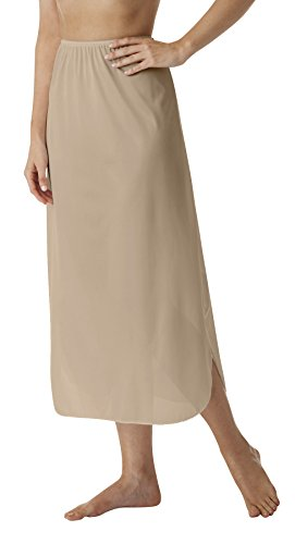 Skirt Half Slip (Velrose Lingerie Plus Size Long Half Slips 35