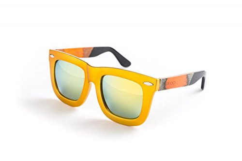Silvano Sunglasses Gold/Gold - Wood Silvano Sunglasses