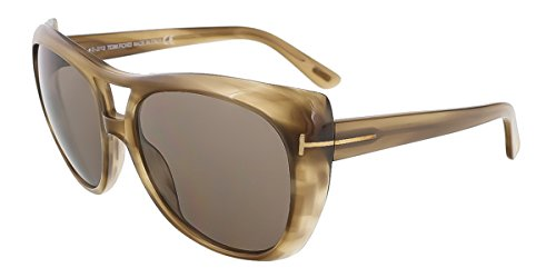 Tom Ford Sunglasses - Claudette / Frame: Brown Horn Lens: - Tom Ford Frames 2013