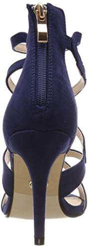 Buffalo Azul 10 Sandalia navy Pulsera Para Mujer 315972 000 Con Zq1RZ