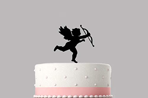 - Cake Topper Wedding Cherub Angel Various Colours Mm Topper Item Choice Of Colours Available