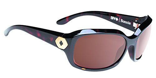Spy Optic Bonnie 673251883865 Wrap Sunglasses, 62 mm (Classic Tort Happy - Bon Ray