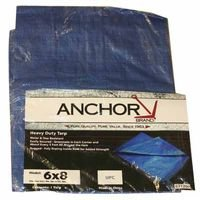 Anchor 11016 18'' X 24'' Poly Tarp Woven Lamin, Sold As 1 Each