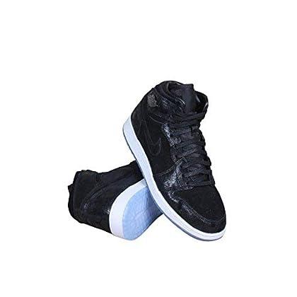 buy online 71e17 c9d7e Jordan Nike Kids Air 1 Ret Hi Prem HC GG Basketball Shoe