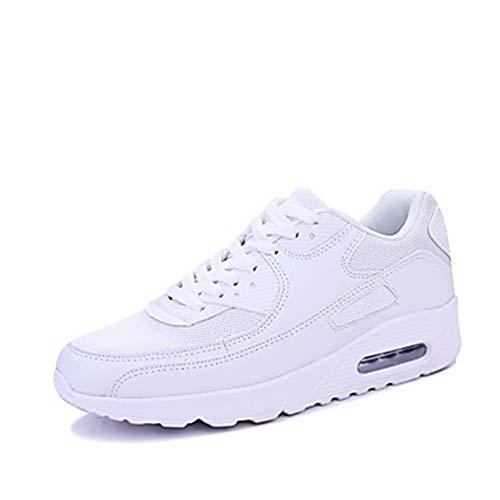 Automne White Noir Pied TTSHOES Chaussures 5 CN38 5 Basket US7 Talon Blanc Femme Plat Lacet Polyuréthane UK5 Course À Rond Printemps EU38 Bout 8nZZwSaIqx