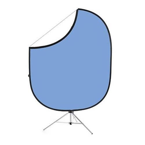 Savage Collapsible Stand Kit 5x6 ft - Light Blue/White CB154-KIT by Savage