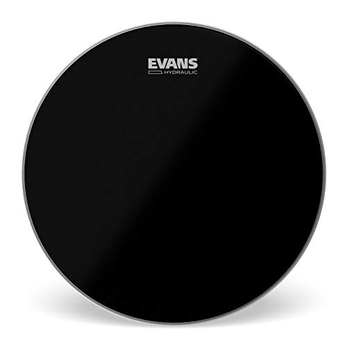 Evans Hydraulic Black Drum Head, 14 Inch (Best Snare Drum Head For Rock)