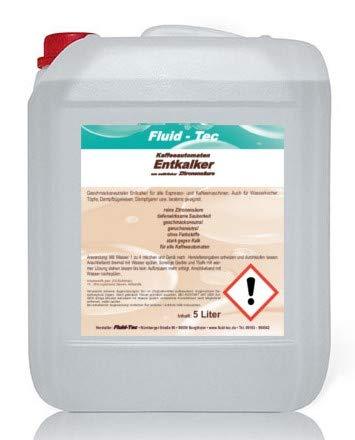 1 x 5 litros/5000 ml litros de líquido desincrustante líquido ...