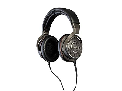 Monoprice Monolith Electrostatic Over Ear Headphones with External Portable Amplifier - 50mm Driver, Exceptional Sound