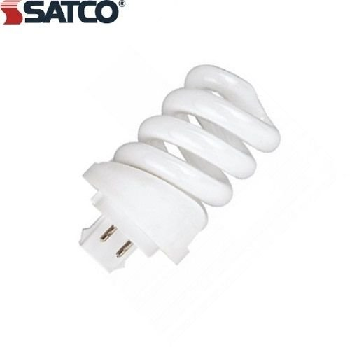 (NEW (PACK OF 6) SATCO S4438 PLS13-WATT SPRING LAMP CFL G24Q-1 BASE, 2700-KELVIN __#partybulbs)