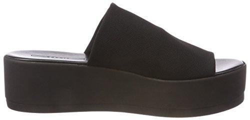 Damen Schwarz 001 Black Slide Neva ESPRIT Mules Twxq4Cp