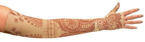 lymphedivas-arm-sleeve-class-1-small-regular-with-diva-diamond-band-bodhi-beige