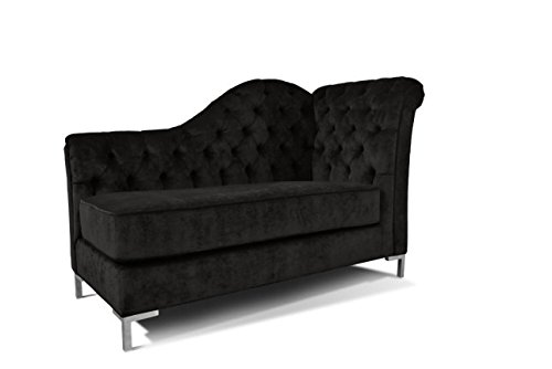 Decenni Everly Tufted Left Arm Chaise Facing Lounge Chair Sonoma Black ·  Price: As Of 15/Aug/2018 18:28:55 CDT Detail