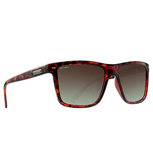 UV-BANS Polarized Sunglasses for Men Women,Retro Wayfarer Style,TAC UV400 - Sunglasses Transition Polarized