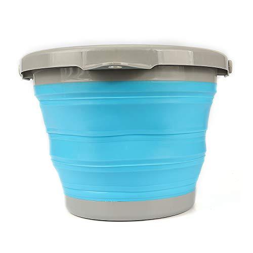 [해외]폴딩 소프트 물통 세차 청소 세탁 아웃 도어 여행 원 예 치료 컴팩트 수납 편리 5l / Folding Soft bucket Car wash cleaning laundry outdoor travel gardening Care Compact storage convenient 5l