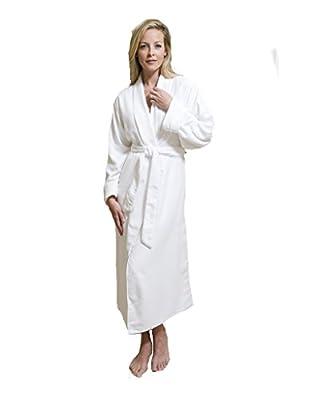 Comfort Ease Doeskin Microfiber Bathrobe by Chadsworth & Haig - Unisex - Women's - Men's