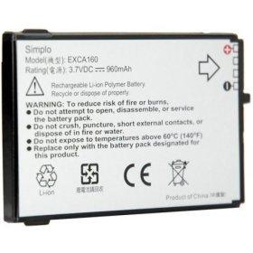 OEM ORIGINAL T-Mobile Dash HTC Excalibur s620 Li-Ion Battery TMobile EXCA160 (S620 Excalibur Dash Htc Phone)