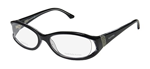 Valentino 5707 Womens/Ladies Designer Full-rim Strass Flexible Hinges Eyeglasses/Eyewear (53-17-130, - Frames Valentino