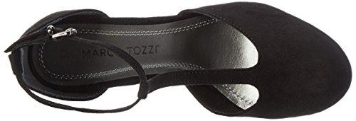 Marco Tozzi 24413 - Zapatos de Tacón Mujer Negro (Black 001)