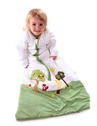 Slumbersafe Kid Sleeping Bag Long Sleeves 2.5 Tog - Forest Friends, 3-6 years/XL