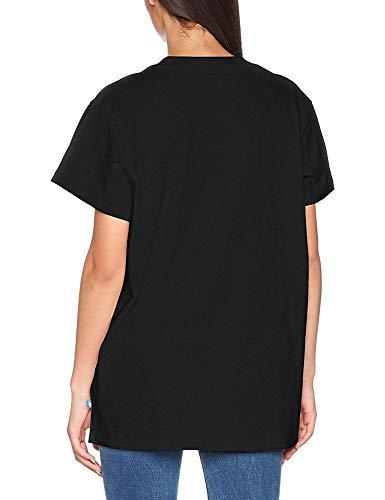 Trefoil Nera donna da Big Adidas Maglietta Tee Bwq7YIWUBv