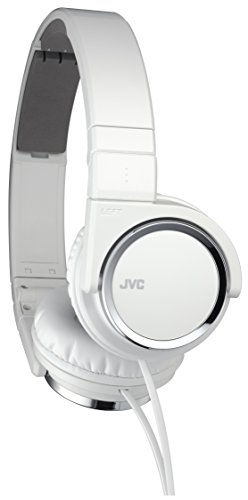 JVC Victor Head-band Foldable Headphones | HA-S400-W White (Japanese Import)