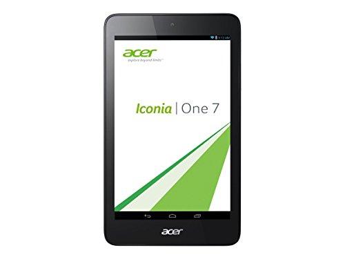 Acer B1-750-11G7 7 inch Intel Atom Z3735G 1.33GHz 1GB DDR3L 16GB4 eMMC Android 4.4 Tablet (Black) (Certified Refurbished)
