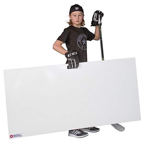 Better Hockey Extreme Shooting Pad - Size 60 inches x 30 inches - Simulates The Feel of Real Ice - Premium Quality Made in Canada